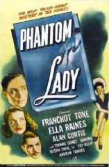 Phantom Lady 1944 DVD - Franchot Tone / Ella Raines